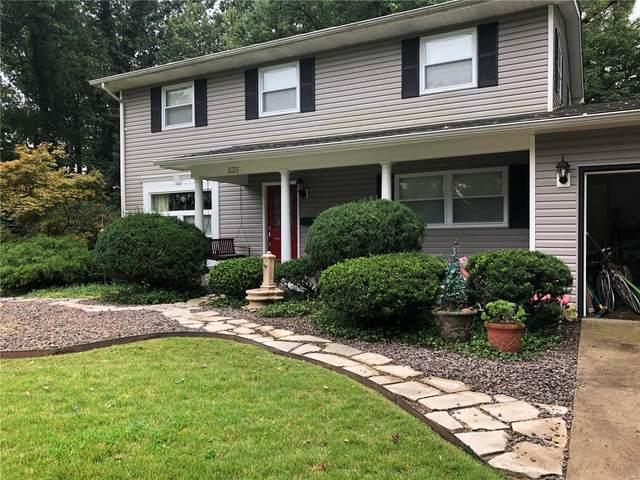 535 Sunset Drive, Edwardsville, IL 62025 (#20066602) :: Kelly Hager Group | TdD Premier Real Estate