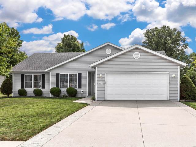 1463 Kingsley Drive, Shiloh, IL 62269 (#20066920) :: Hartmann Realtors Inc.