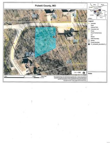 0 Lucky Lane Lot 83, Waynesville, MO 65583 (MLS #20067453) :: Century 21 Prestige