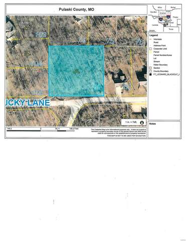 0 Lucky Lot 81 Lane, Waynesville, MO 65583 (MLS #20067503) :: Century 21 Prestige