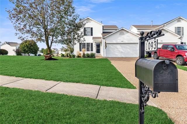 1093 Chesterfield Drive, Wentzville, MO 63385 (#20068212) :: The Becky O'Neill Power Home Selling Team