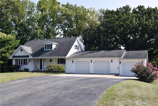 1448 Hillcrest Drive, Greenville, IL 62246 (#20069244) :: Parson Realty Group