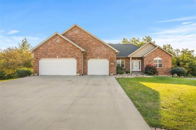 160 Oak Hill Drive, Maryville, IL 62062 (#20069330) :: Tarrant & Harman Real Estate and Auction Co.