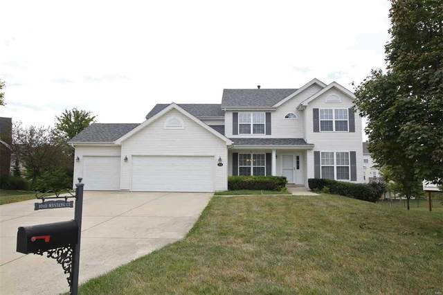 1010 Mustang Drive, Swansea, IL 62226 (#20069481) :: Walker Real Estate Team