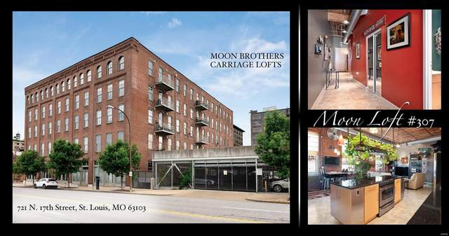 721 N 17th #307, St Louis, MO 63103 (#20069835) :: RE/MAX Professional Realty
