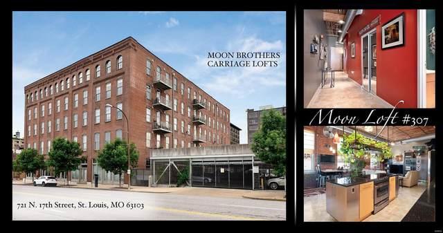 721 N 17th #307, St Louis, MO 63103 (MLS #20069835) :: Century 21 Prestige