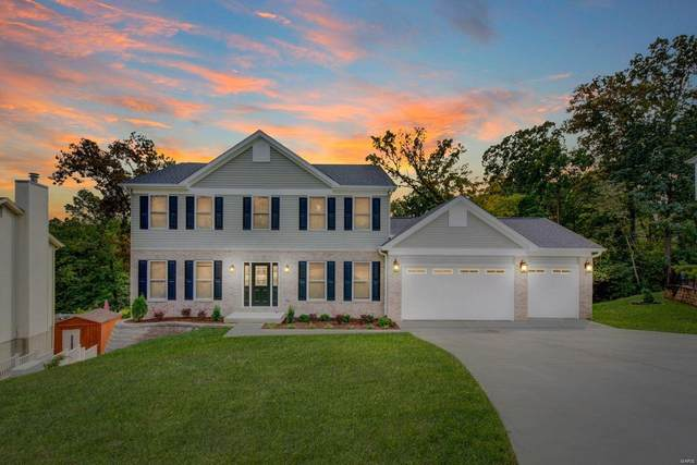 5947 Summerhedge Place, St Louis, MO 63128 (#20070183) :: Krch Realty