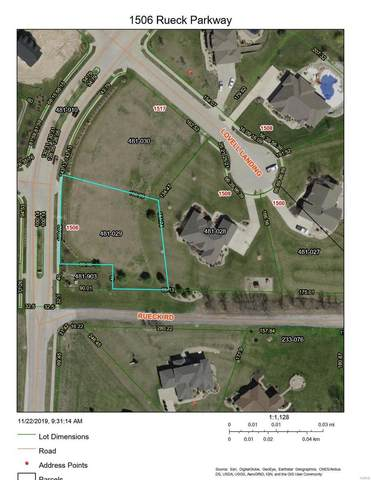 1506 Rueck Parkway, Columbia, IL 62236 (#20072384) :: Century 21 Advantage