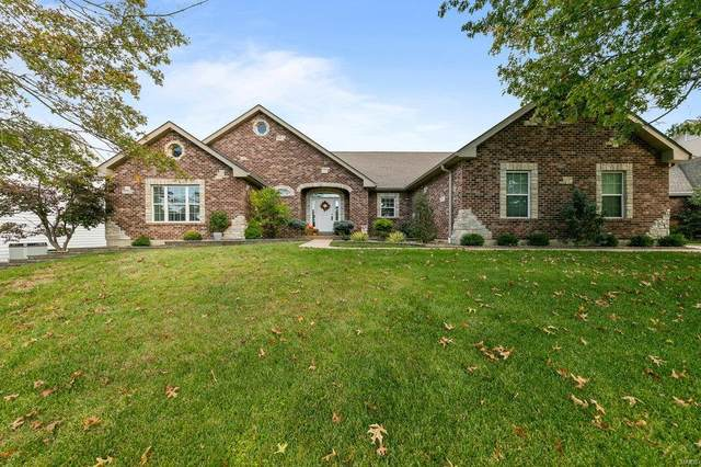 887 Whitmoor Drive, Weldon Spring, MO 63304 (#20073463) :: Kelly Hager Group | TdD Premier Real Estate