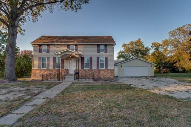 405 W Third Street, MOUNT OLIVE, IL 62069 (#20074706) :: The Becky O'Neill Power Home Selling Team