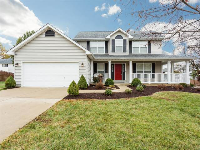 3558 Canyon Creek Drive, Saint Peters, MO 63303 (#20075132) :: PalmerHouse Properties LLC