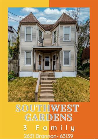 2631 Brannon Avenue, St Louis, MO 63139 (#20075798) :: PalmerHouse Properties LLC