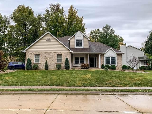 209 N Burns Farm Boulevard North, Edwardsville, IL 62025 (#20076132) :: Fusion Realty, LLC