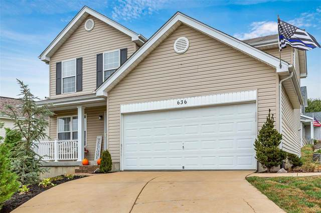 636 Hill Drive, Eureka, MO 63025 (#20076753) :: Matt Smith Real Estate Group