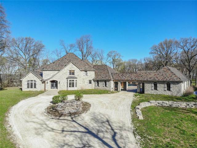 13202 Bull Hollow Rd, FIELDON, IL 62031 (#20077632) :: The Becky O'Neill Power Home Selling Team