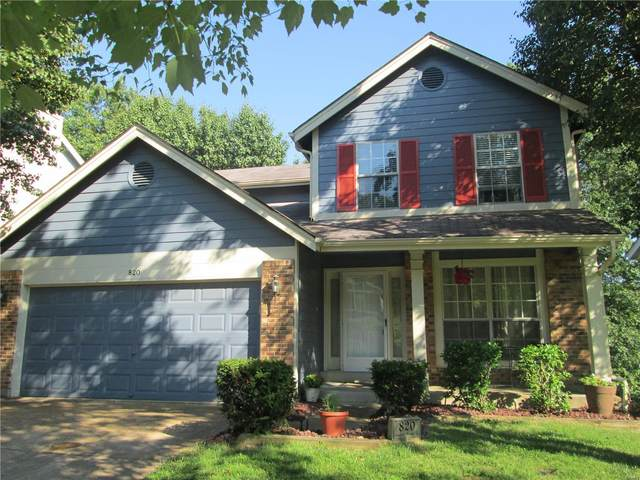 820 Ginger Wood, Ballwin, MO 63021 (#20077650) :: Clarity Street Realty