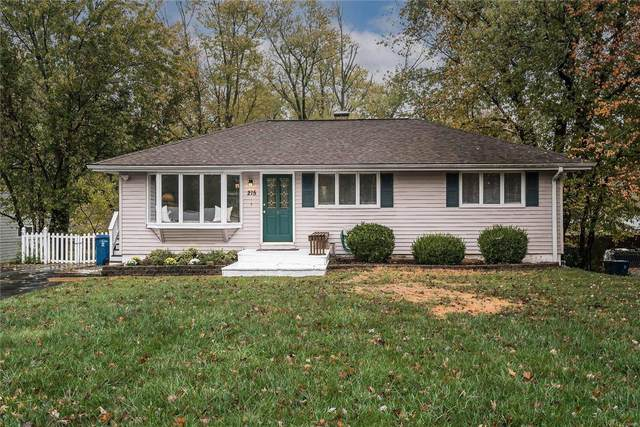215 Hutchinson, Ellisville, MO 63011 (#20078343) :: St. Louis Finest Homes Realty Group