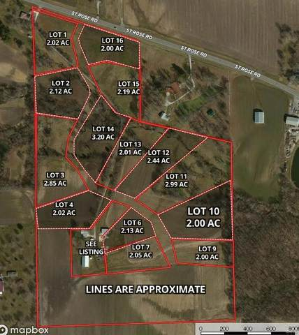 0 Harvest View Lane - Lot 16, Highland, IL 62249 (#20080774) :: Parson Realty Group