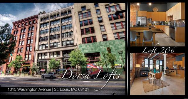 1015 Washington Avenue #206, St Louis, MO 63101 (#20081083) :: Clarity Street Realty