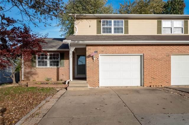 103 Twin Oaks Drive, Shiloh, IL 62221 (#20081397) :: Matt Smith Real Estate Group