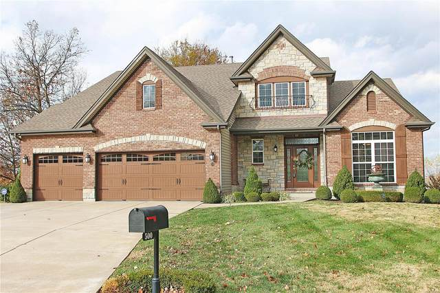 500 Lexington Landing Court, Saint Charles, MO 63303 (#20081669) :: Jeremy Schneider Real Estate