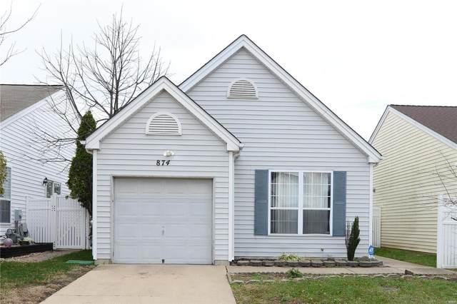 874 Liberty Village Drive, Florissant, MO 63031 (#20082427) :: Matt Smith Real Estate Group