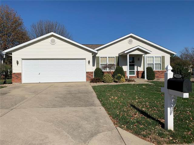 335 Briarwood Drive, Waterloo, IL 62298 (#20083304) :: Parson Realty Group