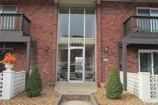 2535 Senator Court A, St Louis, MO 63125 (#20084777) :: Peter Lu Team