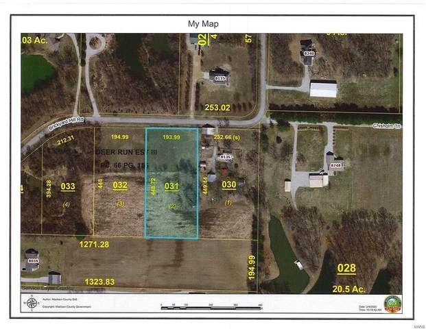8136 Brickyard Hill Tract 2 Road, Worden, IL 62097 (#21000335) :: Matt Smith Real Estate Group
