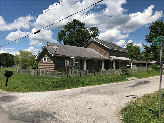 302 Illinois Street, WEST FRANKFORT, IL 62896 (#21000414) :: Parson Realty Group