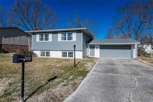 209 Saint Lo Drive, Fairview Heights, IL 62208 (#21000967) :: The Becky O'Neill Power Home Selling Team