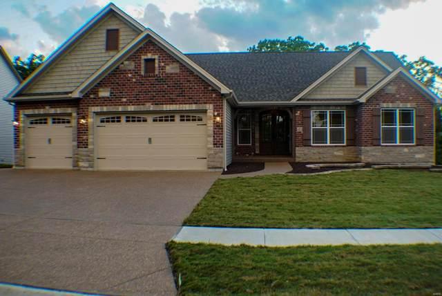 513 Stonewolf Creek Drive, Wentzville, MO 63385 (#21001379) :: PalmerHouse Properties LLC