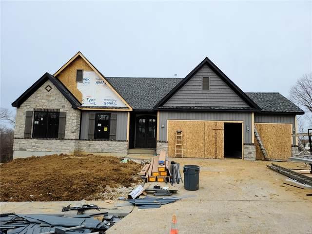 521 Stonewolf Creek Drive, Wentzville, MO 63385 (#21001435) :: PalmerHouse Properties LLC