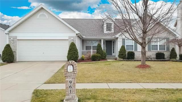 961 Molloy Drive, O'Fallon, MO 63366 (#21001887) :: Kelly Hager Group | TdD Premier Real Estate