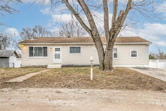 837 Cedar Drive, Imperial, MO 63052 (#21001898) :: Parson Realty Group