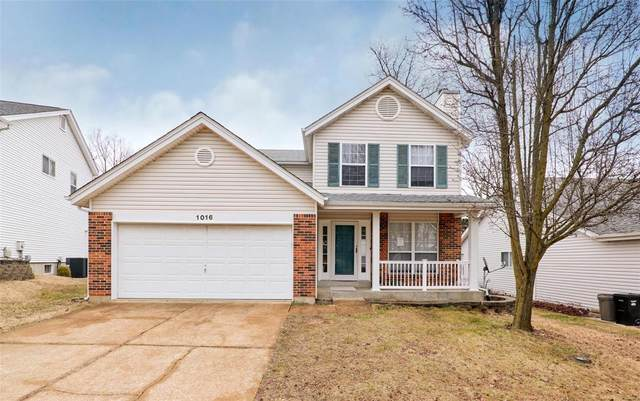 1016 Oak Glen Circle, Ballwin, MO 63021 (#21002294) :: St. Louis Finest Homes Realty Group