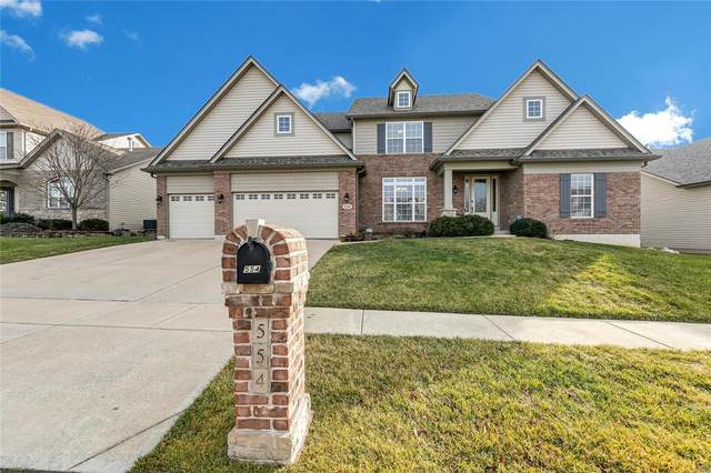 554 Heather Ridge Manor Court, Wentzville, MO 63385 (#21002443) :: Clarity Street Realty