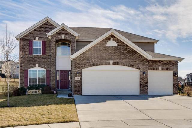 249 Turning Mill Drive, Wentzville, MO 63385 (#21002590) :: Parson Realty Group