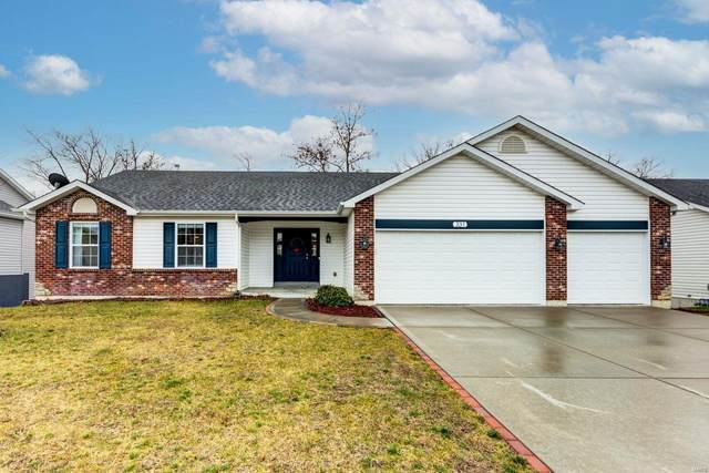 331 Cimarron Valley Trail, Wentzville, MO 63385 (#21002698) :: Realty Executives, Fort Leonard Wood LLC