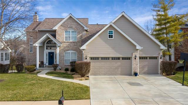 622 Dartmouth Crossing Court, Wildwood, MO 63011 (#21002716) :: Parson Realty Group