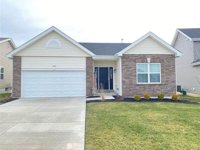 438 Dusty Brook Drive, O'Fallon, MO 63366 (#21002822) :: St. Louis Finest Homes Realty Group