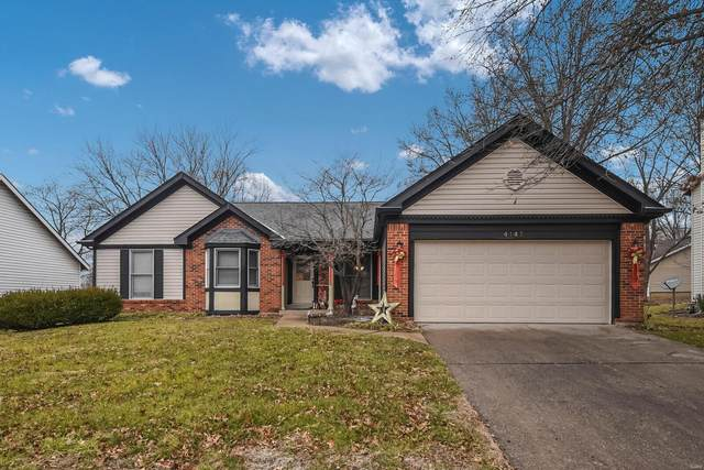 4145 Goodness Drive, Florissant, MO 63034 (#21002975) :: Walker Real Estate Team