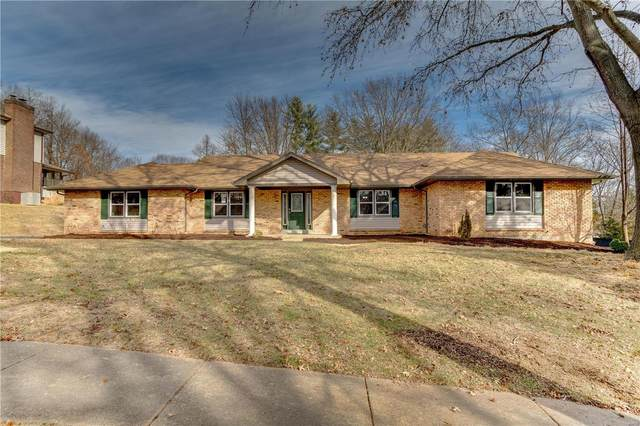 15223 Strollways Drive, Chesterfield, MO 63017 (#21003043) :: RE/MAX Vision