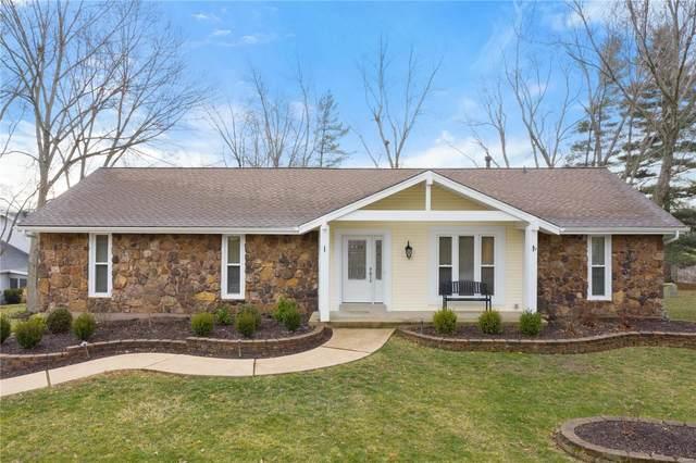 15560 Clover Ridge Drive, Chesterfield, MO 63017 (#21003258) :: RE/MAX Vision