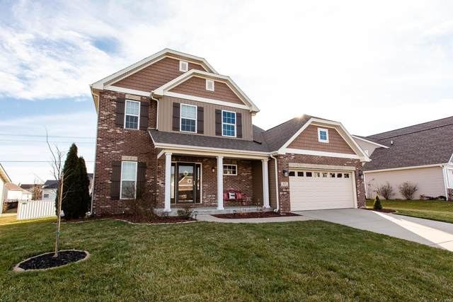 825 Bluff Ridge Lane, Shiloh, IL 62221 (#21003418) :: The Becky O'Neill Power Home Selling Team