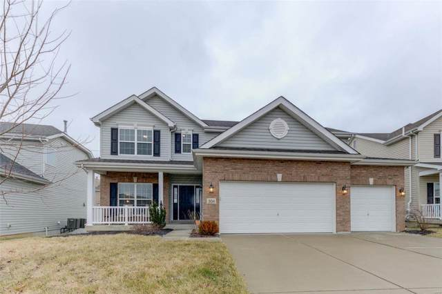 304 Misty Brook Drive, Wentzville, MO 63385 (#21003485) :: Parson Realty Group