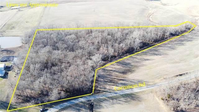0 00 Carnation Road, PINCKNEYVILLE, IL 62274 (#21003513) :: Realty Executives, Fort Leonard Wood LLC