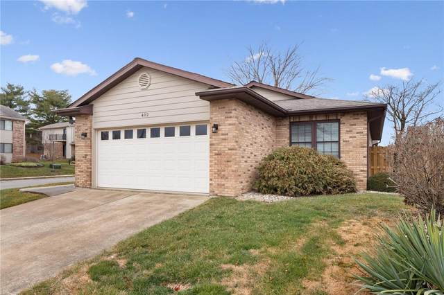402 Eagle Terrace, O'Fallon, IL 62269 (#21003595) :: Matt Smith Real Estate Group