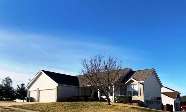 1295 Pinehurst View Dr, O'Fallon, MO 63366 (#21003816) :: Jeremy Schneider Real Estate
