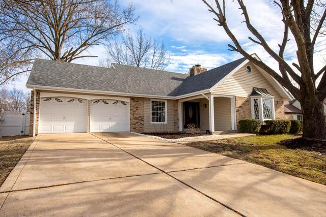 2158 Parasol Drive, Chesterfield, MO 63017 (#21003943) :: RE/MAX Vision